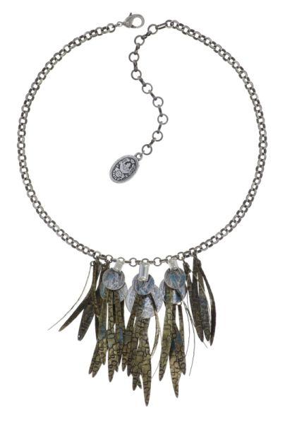 Konplott Global Glam Halskette in crystal weiß 5450543791463