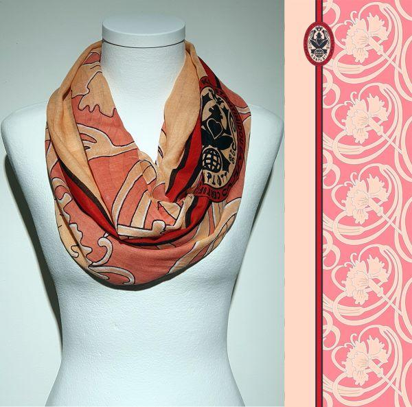 Konplott Schal Floral 6 in pink 5450543806884