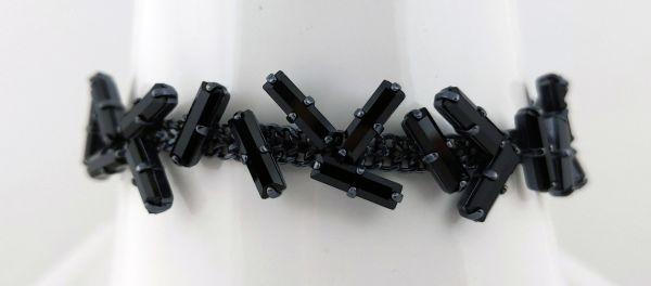 Konplott Jumping Baguette Armband Deepest Black 5450543861258