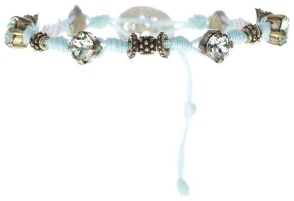 Konplott Festival Armband in blau Messing 5450543746647