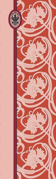 Konplott Schal Floral 18 in orange 5450543807133