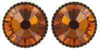 Vorschau: Konplott Black Jack Ohrstecker klassisch in orange tangerine 5450543703398