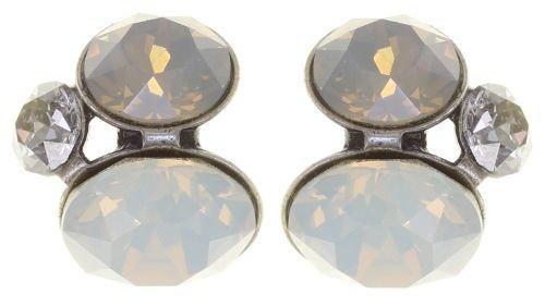 Konplott Disco Star Ohrstecker Stone White 5450543880815