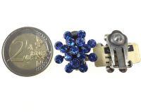 Vorschau: Konplott Magic Fireball Ohrclip in sapphire 5450527611701