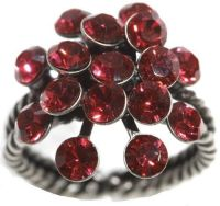Vorschau: Konplott Magic Fireball 16 Stein Ring in indian pink 5450527767323
