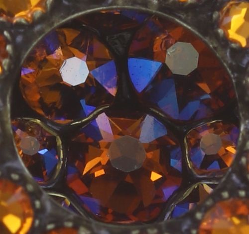 Konplott Inside Out Ohrclip Größe S in orange 5450543638881