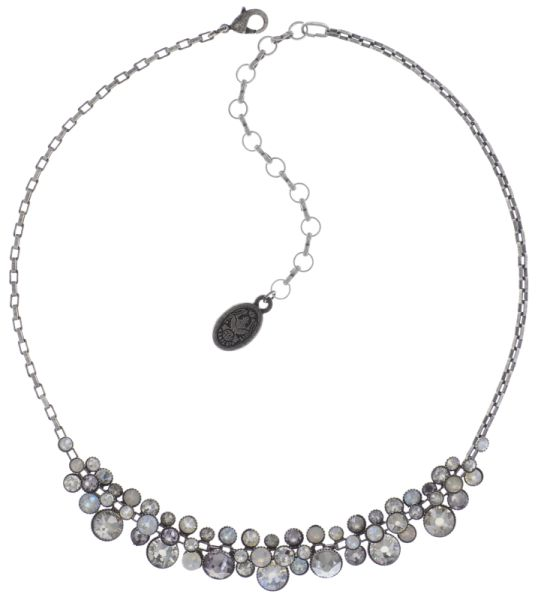 Konplott Water Cascade steinbesetzte Halskette in weiß 5450543753768
