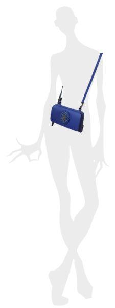Konplott Plain is Beautiful Wallet Bag blau - Neu 5450543544311