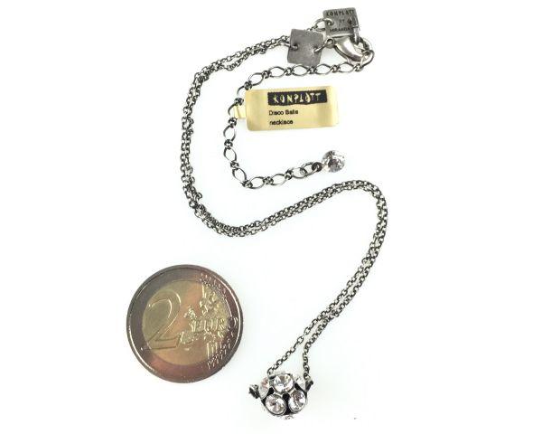 Konplott Disco Balls crystal Halskette mit Anhänger M 5450527596992