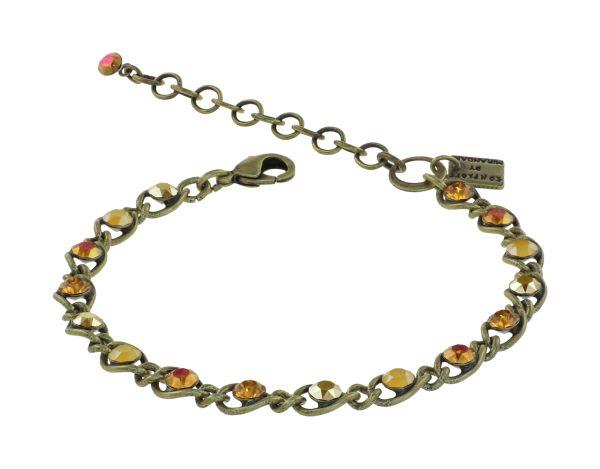 Konplott Magic Fireball Armband in gelb Classic Size 5450543914503