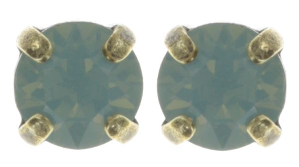 Konplott Black Jack Ohrstecker in pacific opal grün 5450527217804
