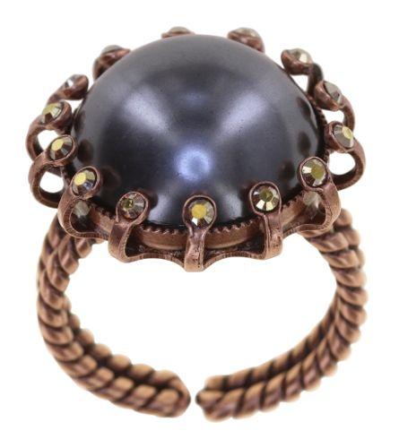 Konplott Ring in grün/braun - Where the Lilac Bloom 5450543896526