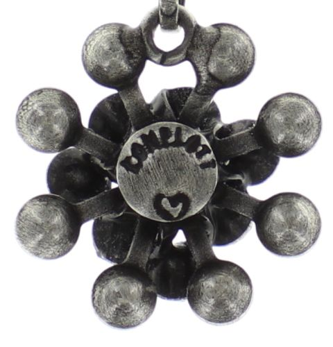 Konplott Magic Fireball Halskette mit Anhänger Mini in hellblau 5450543656441