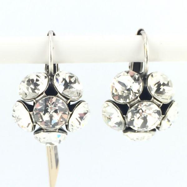 Disco Balls crystal Ohrhänger mit Klappverschluss