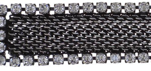 Konplott Rock 'n' Glam Armband in crystal weiß 5450543778075