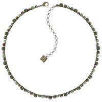 Vorschau: Konplott Water Cascade steinbesetzte Halskette in grün 5450543772967