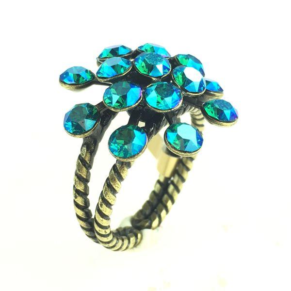 Magic Fireball blau/grüner Ring