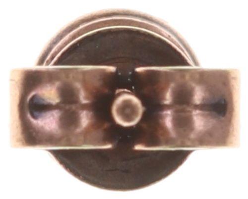 Konplott Black Jack Ohrstecker klassisch klein in coralline crystal light coral 5450543728551