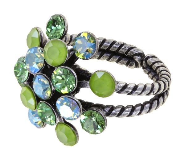 Konplott Magic Fireball Ring in grün Classic Size 5450543914534