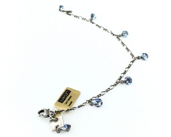 Konplott Tutui light sapphire Armband verschließbar 5450527274388