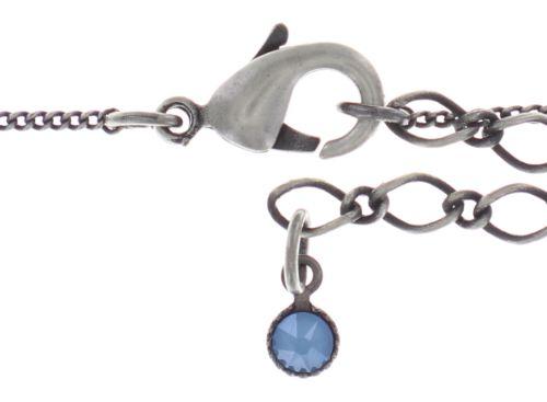 Konplott Spell on You Halskette mit Anhänger in hellblau Silberfarben 5450543735184