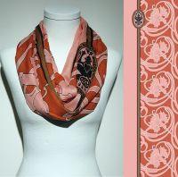 Vorschau: Konplott Schal Floral 20 in orange 5450543807171