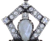 Vorschau: Konplott Snow White Halskette mit Anhänger in in weiß Größe M 5450543755823