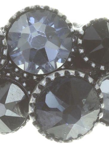 Konplott Water Cascade Ring in schwarz 5450543766614