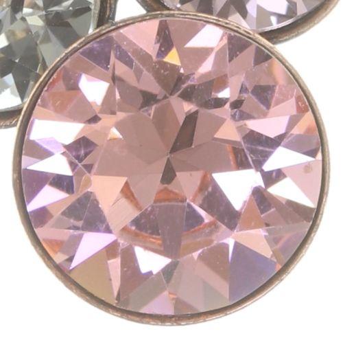 Konplott Petit Glamour Ohrstecker hängend in pink 5450543766492