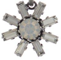 Vorschau: Konplott Spider Daisy Halskette mit Anhänger in weiß Größe S 5450543735719