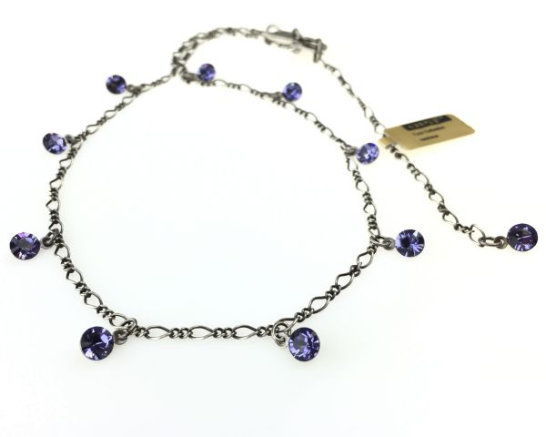 Konplott Tutui tanzanite Halskette steinbesetzt, violett 5450527274234