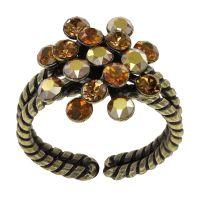 Vorschau: Konplott Magic Fireball Ring in braun mini 5450543914916