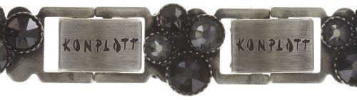 Konplott Water Cascade Armband schwarz antik silber 5450543686080