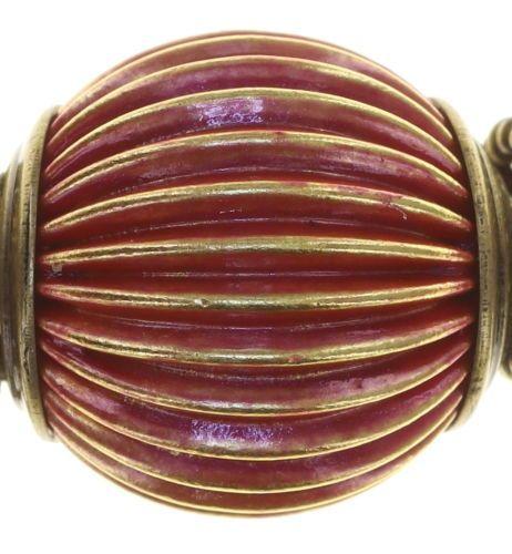 Konplott Tropical Candy Halskette - Blut-Rot 5450543810133