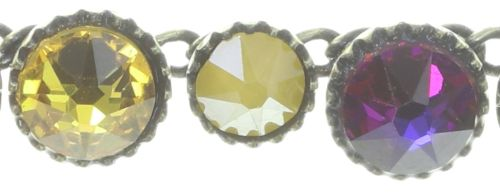 Konplott Water Cascade steinbesetzte Halskette in braun/orange 5450543772936