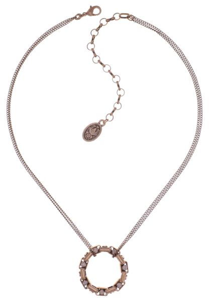 Konplott Industrial Halskette in water opal rosé 5450543796468