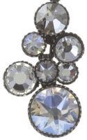 Vorschau: Konplott Water Cascade Halskette mit Anhänger in weiß antik silber 5450543686165
