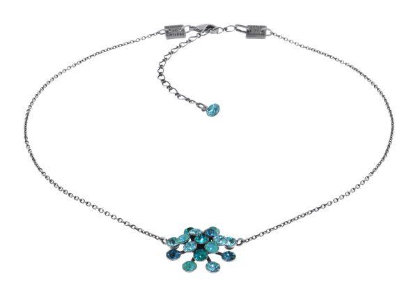Konplott Magic Fireball Halskette in blau/grün Classic Size 5450543904450