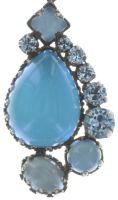 Vorschau: Konplott Jelly Star Halskette mit Anhänger in hellblau 5450543714103