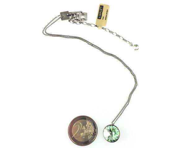 Konplott Rivoli chrysolite Halskette mit Anhänger hellgrün 5450527640831