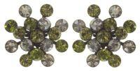 Vorschau: Konplott Magic Fireball Ohrstecker grün/ kristall 5450543683089