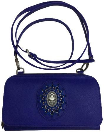 Plain is Beautiful Wallet Bag blau - Neu