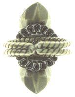 Vorschau: Konplott Tears of Joy Ring in braun crystal cappucci Größe S 5450543765495