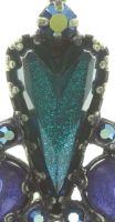 Vorschau: Konplott Snow White Ohrstecker in blau/grün Größe S 5450543758220
