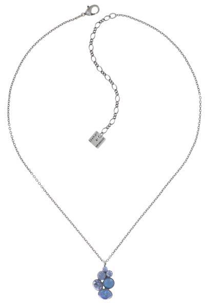 Konplott Petit Glamour Halskette in soft water blue 5450543795003
