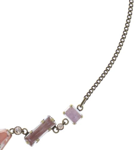 Konplott Mix the Rocks Halskette in rosa crystal blush 5450543790275