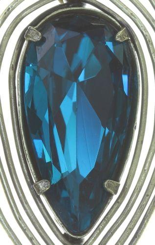 Konplott Amazonia Ohrhänger in blau/grün, Größe S 5450543753287