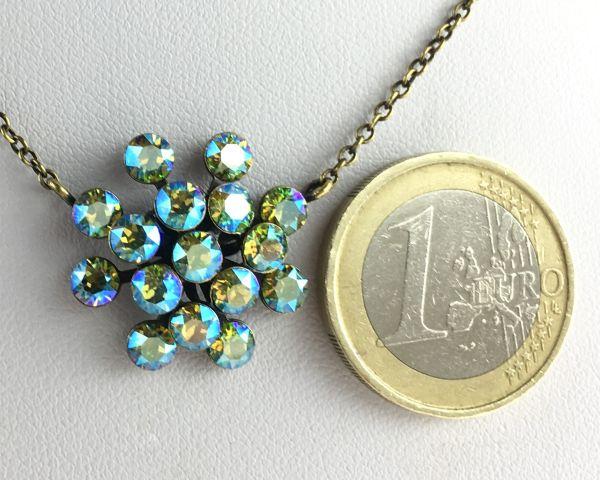 Konplott Magic Fireball gelb/grüne Halskette mit Anhänger 5450543637044