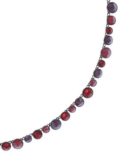 Konplott Water Cascade steinbesetzte Halskette in coralline 5450543772943