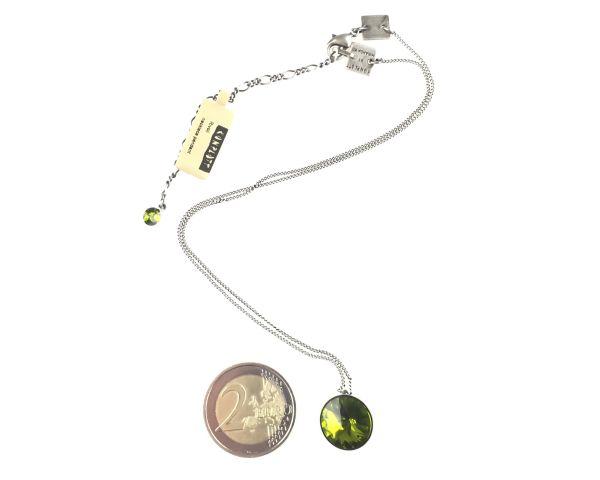 Konplott Rivoli olivine Halskette mit Anhänger 5450527640800